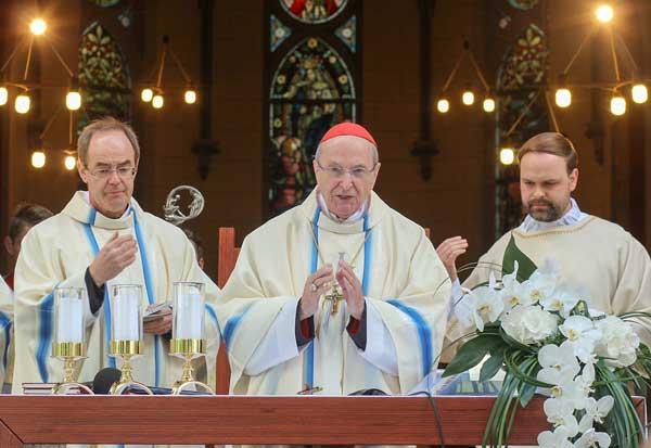 Joachim Kardinal Meisner predigt zum 4. Jahrestag des Papstbesuches